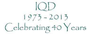 IQD feiert 40 jähriges Firmenjubiläum