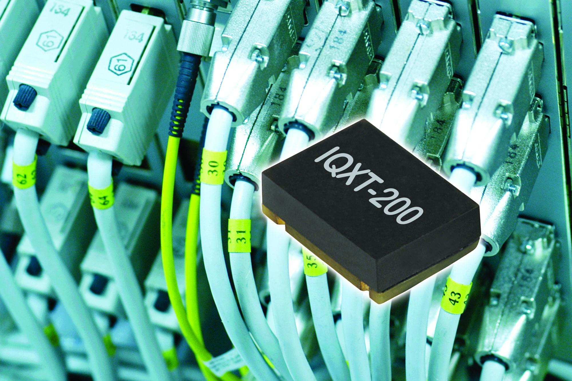 Neuer, analog kompensierter TCXO von IQD liefert eine Frequenzstabilität bis zu ±0,28ppm